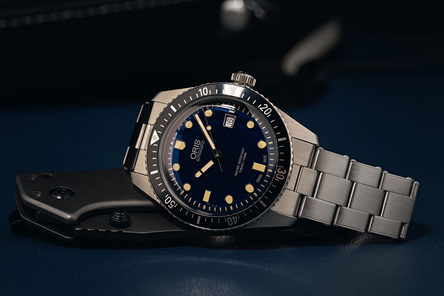 Oris Divers Sixty-Five blue dial