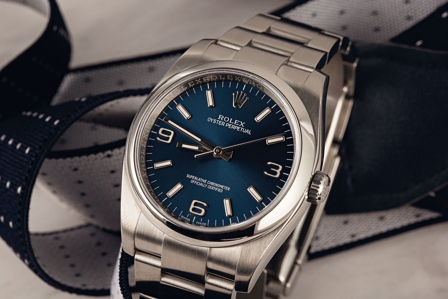 Rolex Oyster Perpetual first tool watch