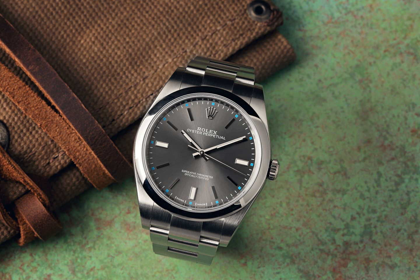 Best First Rolex Oyster Perpetual Rhodium Dial