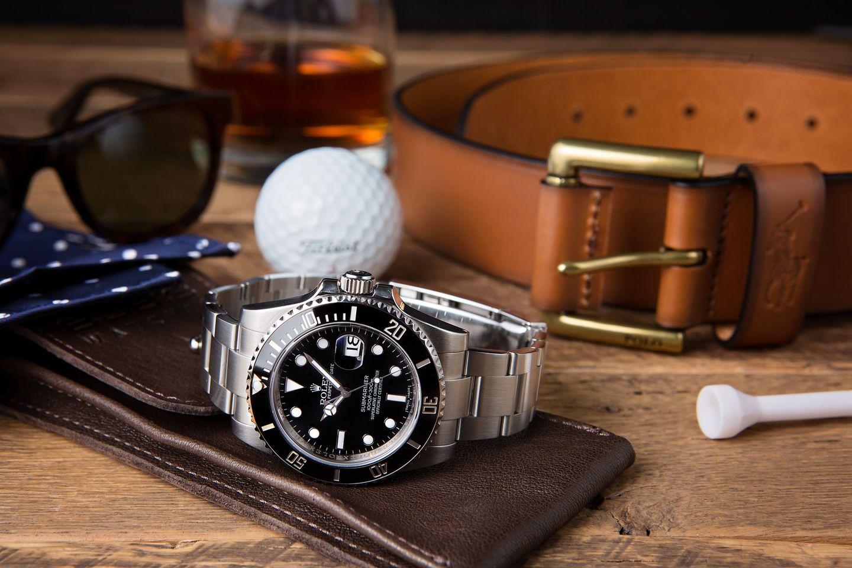 Best Everyday Mens Luxury Watches - Rolex Submariner Black 116610