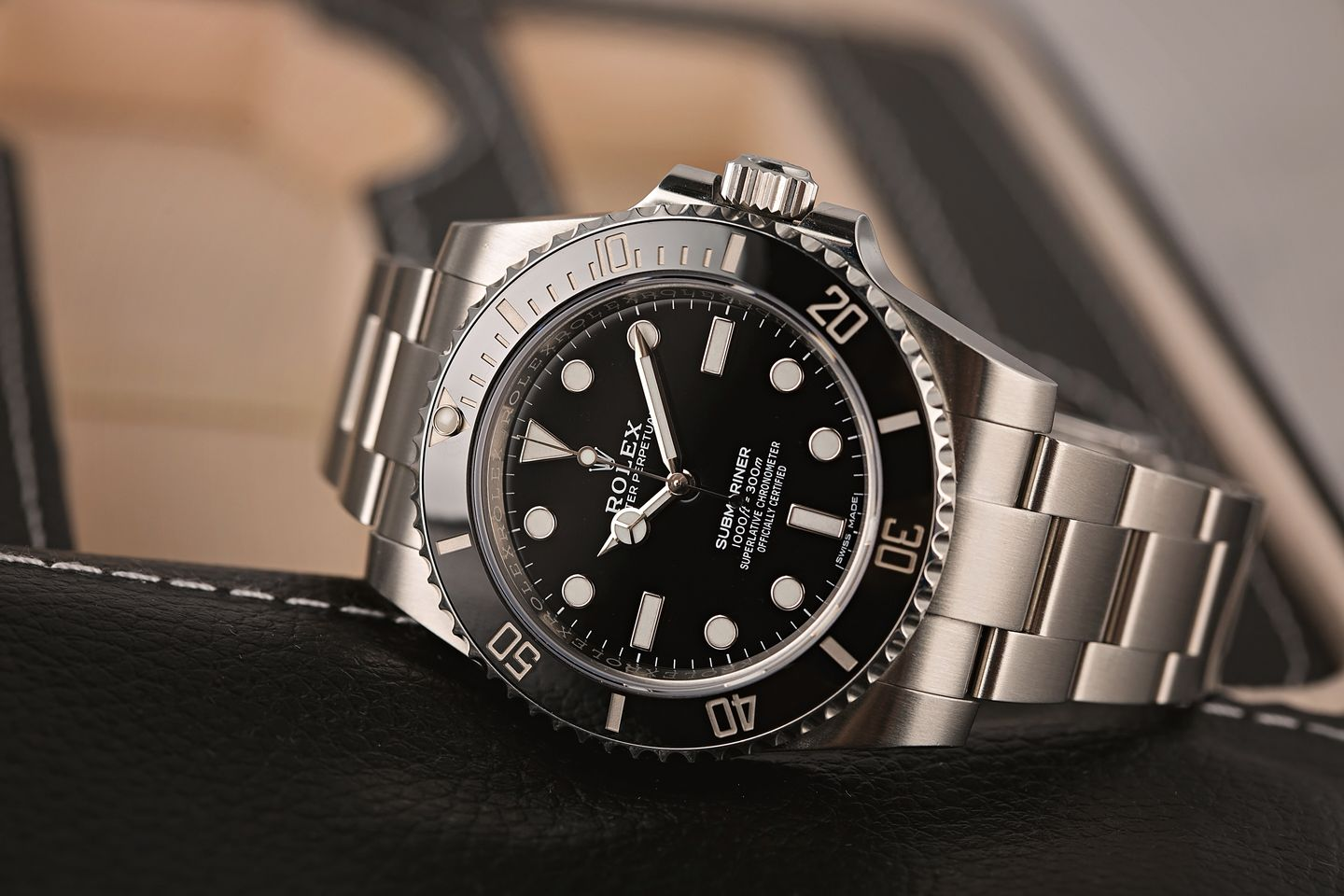 Rolex Watches Submariner 114060 No-Date Personality Test