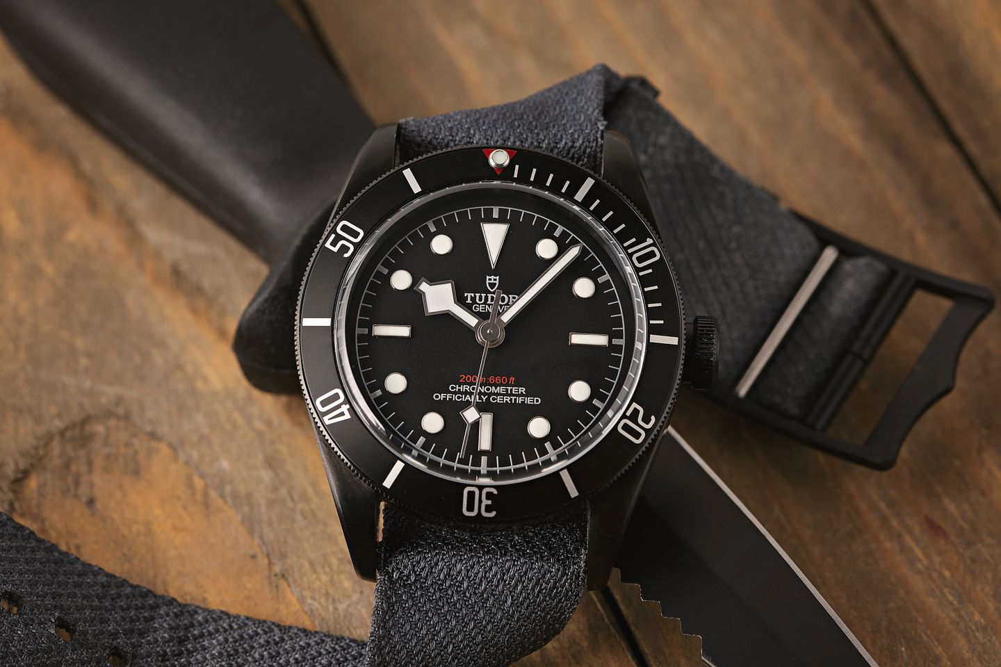 Intriguing Black Watches