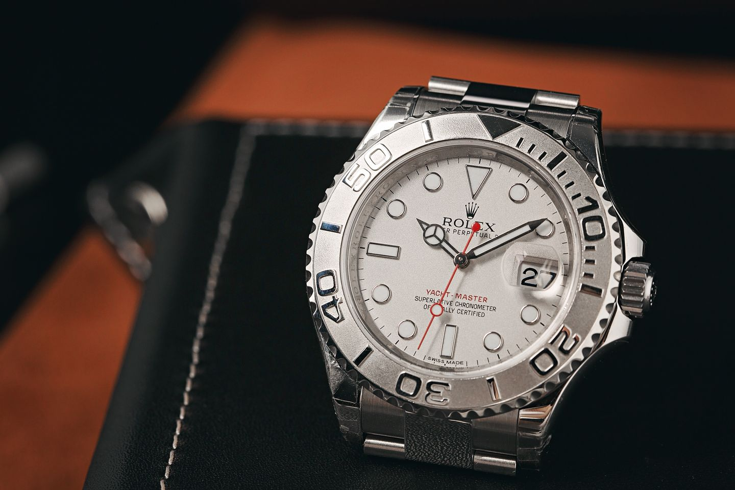 How Rotating Bezels Actually Work Rolex Yacht-Master Platinum