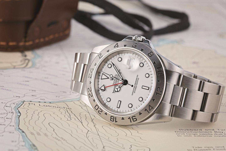 Rolex Explorer II 16570 versus 216570 Comparison Guide Polar dial