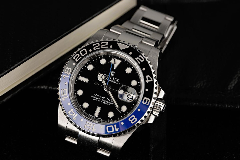 Rolex Batman GMT-Master II 116710 BLNR