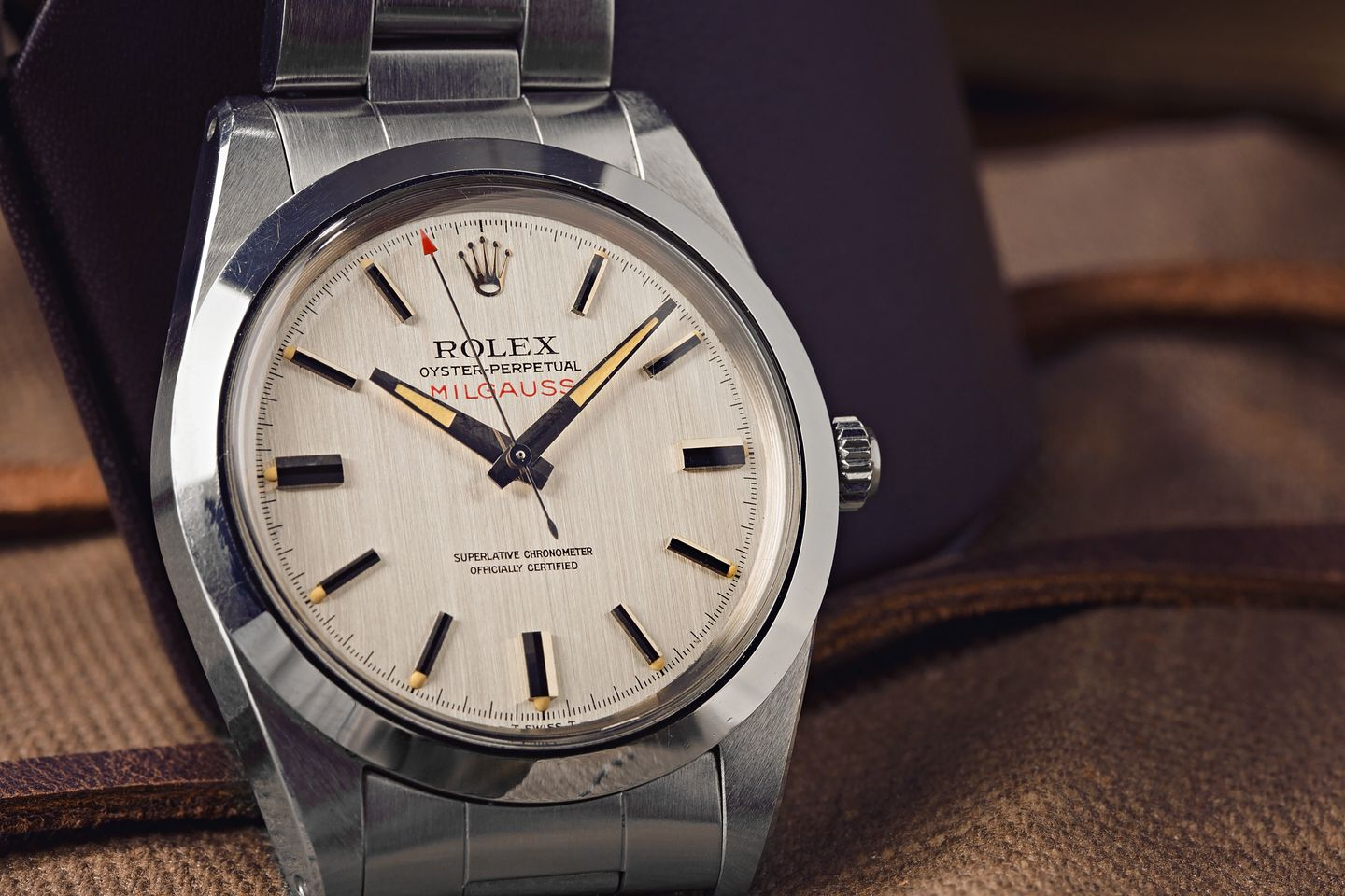 How Does a Watch Auction Work? vintage Rolex Milgauss