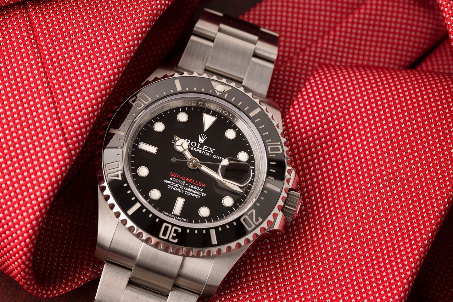Most Durable Rolex Watches for Men Sea-Dweller 126600 red