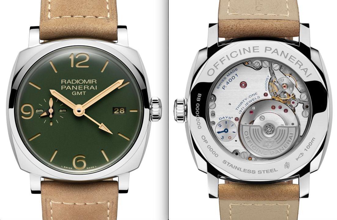 green dials