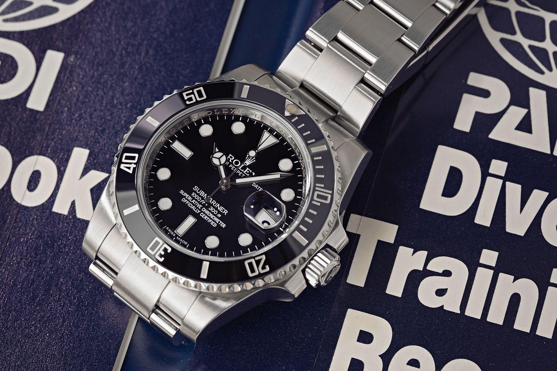 Ceramic Rolex Submariner Date Evolution 116610