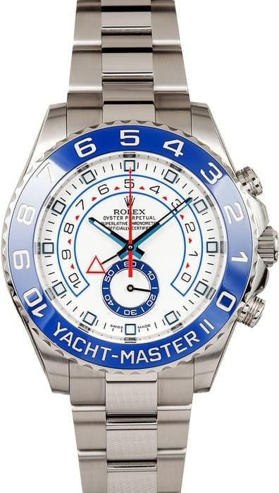 nautical inspired Rolex watch