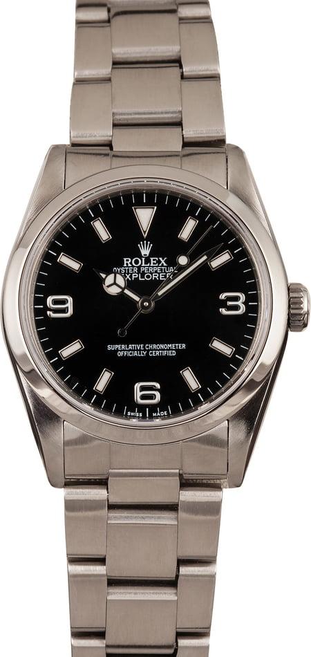 Mid-Size Rolex Watches - Explorer 14270