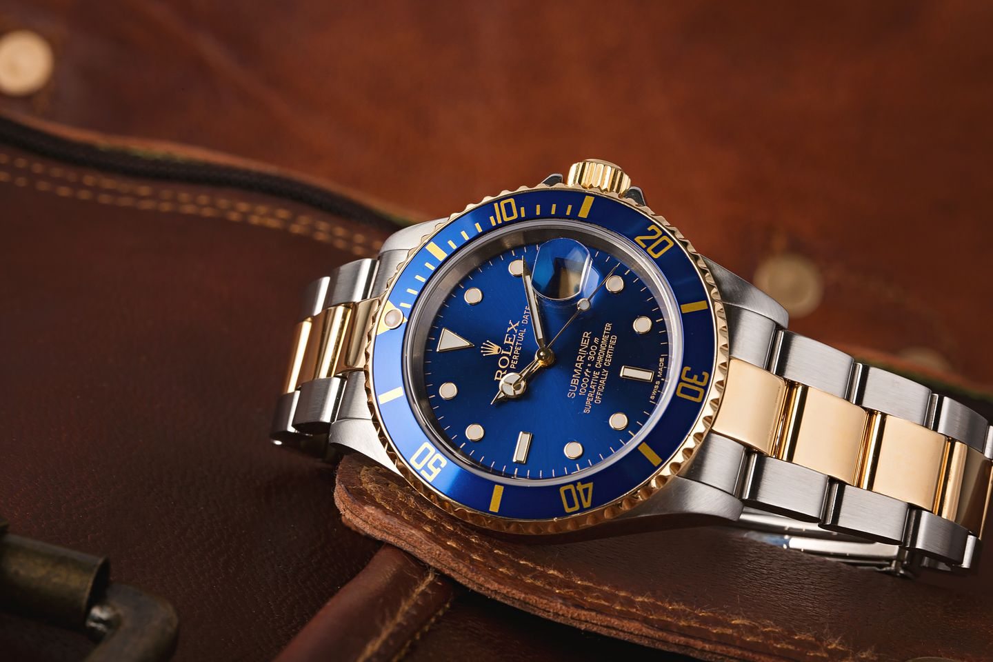 Two-Tone Rolex Submariner 16613