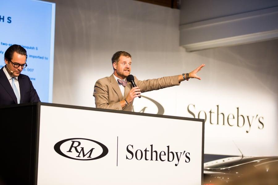 RM Sotheby's Monterey Car Week