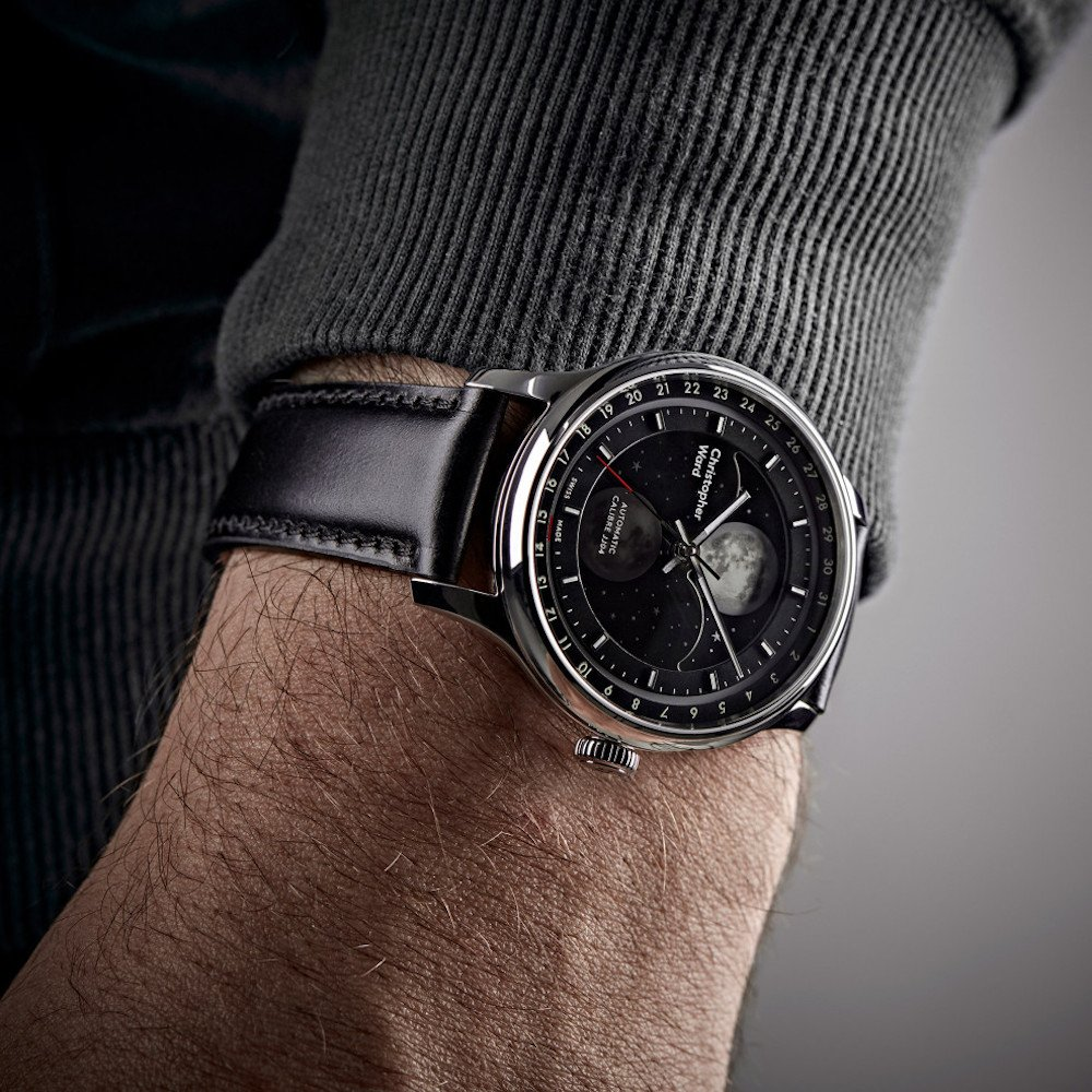 Christopher Ward C1 moon phase watch