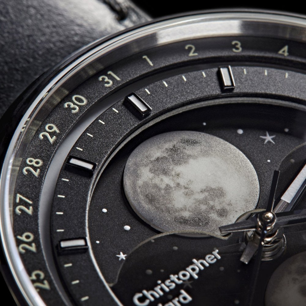 Christopher Ward moon phase watch