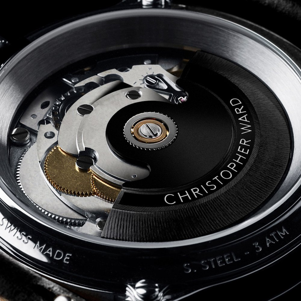 Christopher Ward C1 moon phase - Caliber JJ04