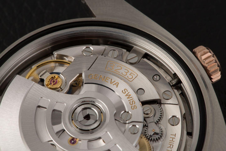 Rolex Datejust Watch Caliber 3235 Movement