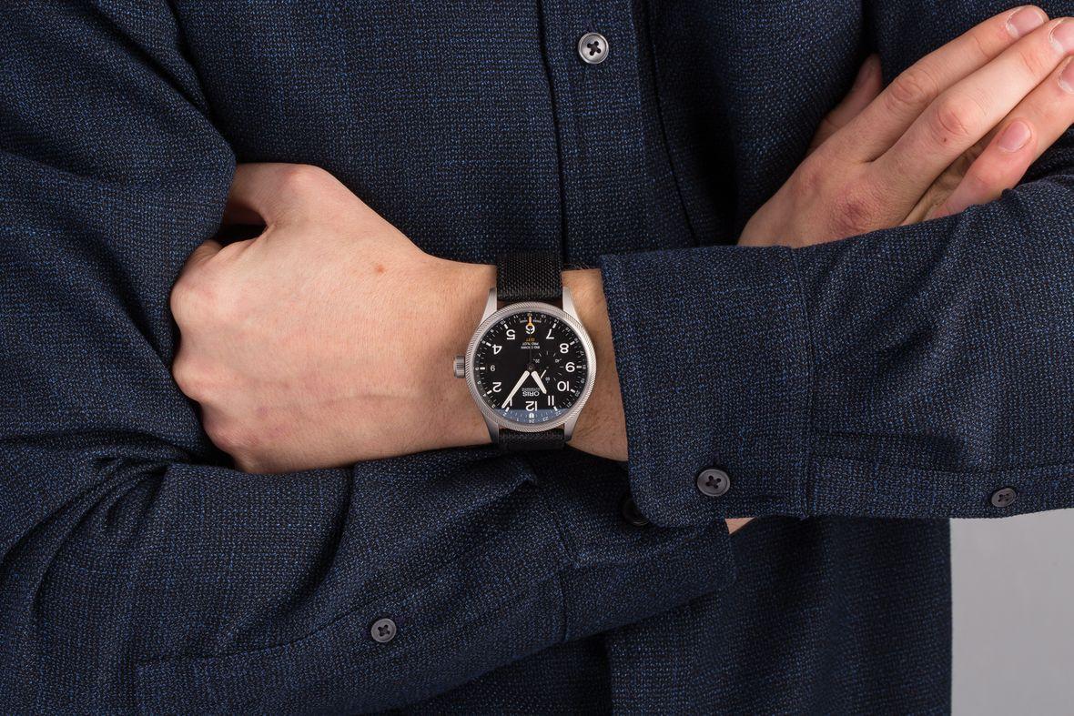 GMT Watches Oris Big Crown ProPilot Black Dial