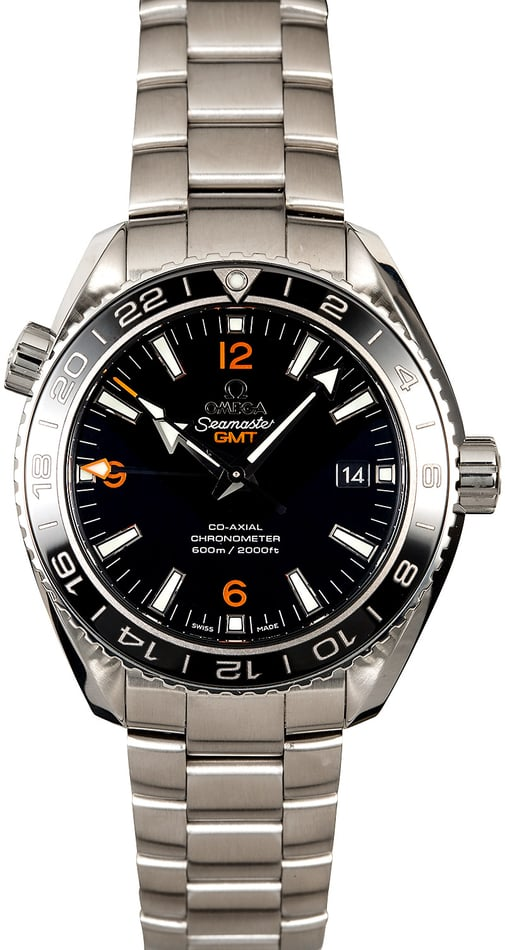 Omega Planet Ocean Co-Axial GMT