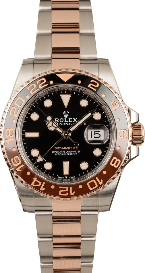 Rolex Everose Rolesor GMT-Master II Root Beer