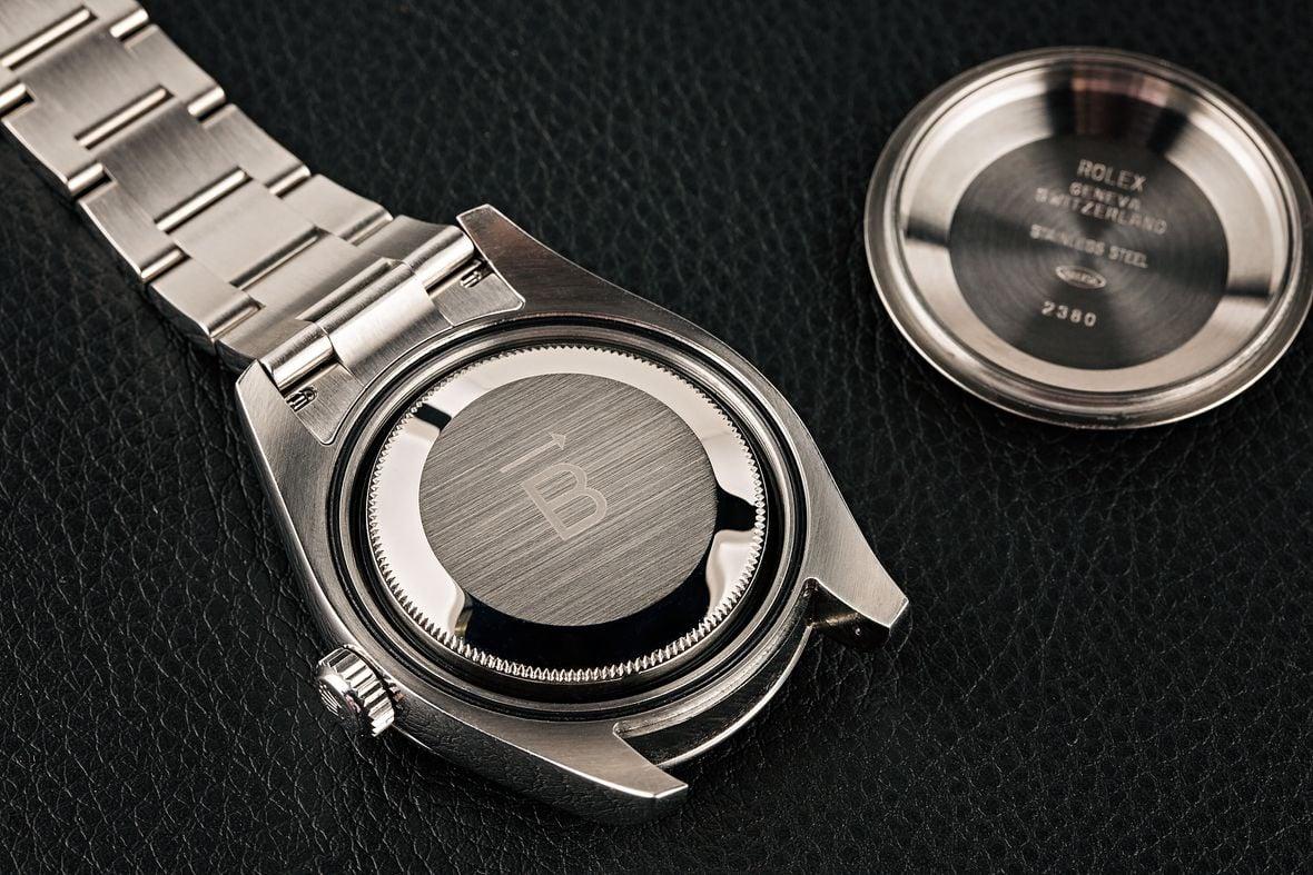 Rolex Milgauss Z-Blue Dial 116400GV Internal Antimagnetic Shield