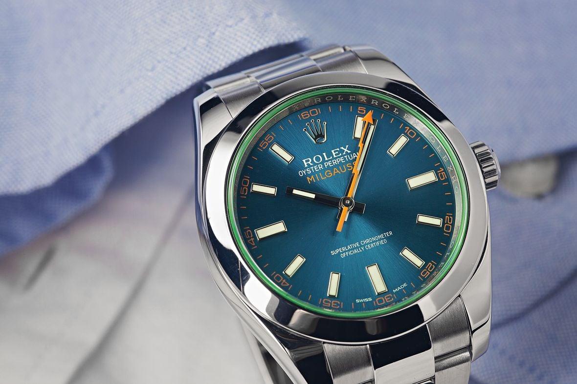 Rolex Milgauss Z-Blue 116400GV