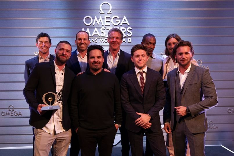 Omega Celebrity Masters - Rory McIlroy, Sergio Garcia, Dennis Quaid, Anthony Mackie, Tommy Fleetwood, Justin Timberlake, Michael Peña, Niall Horan, Bastian Baker