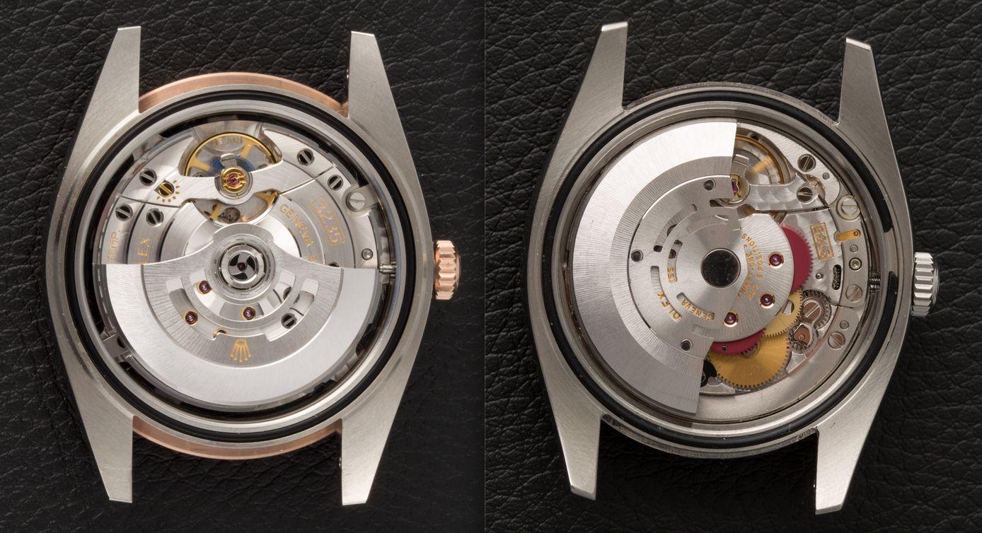 Rolex Caliber 3135 vs. Caliber 3235