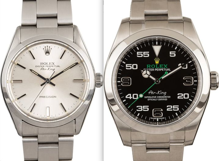 Rolex Air-King Comparison