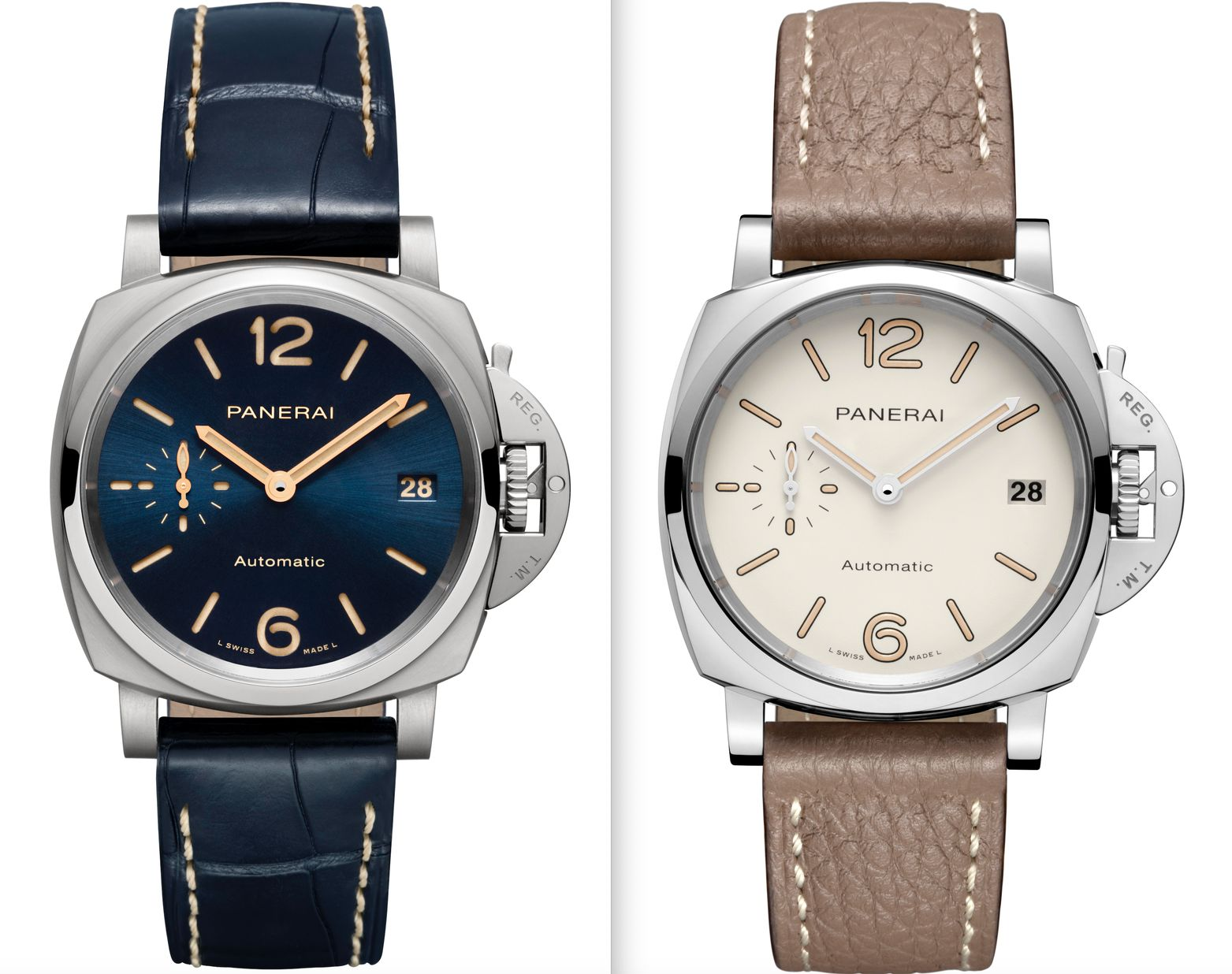 Panerai Luminor Due PAM00926 and PAM01043