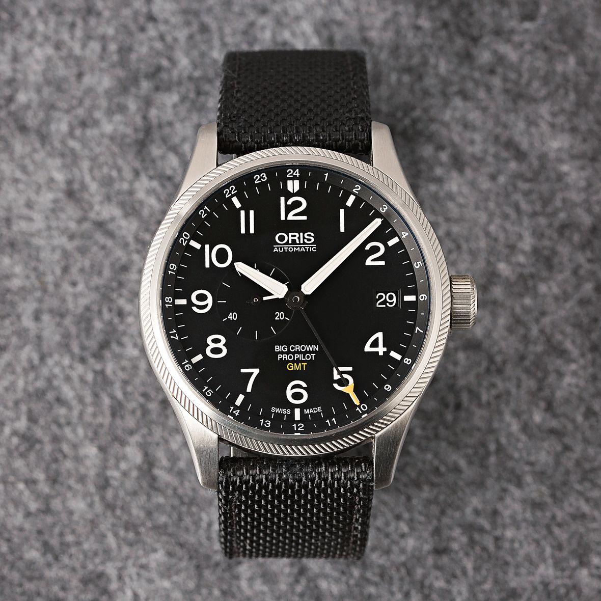 GMT Watches Oris Big Crown ProPilot Small Seconds