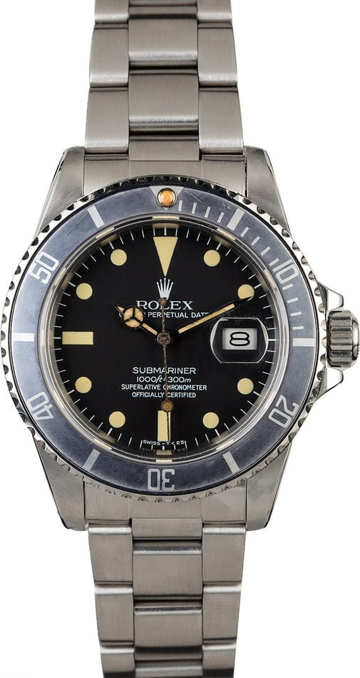 Submariner Rolex transitional references