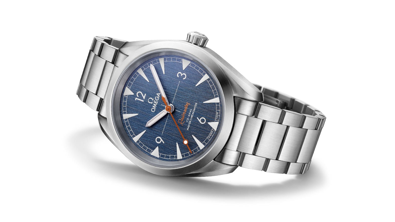 Omega Railmaster Denim Dial