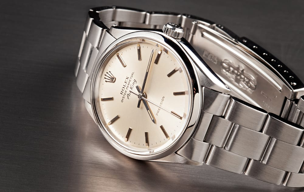 History of Rolex Military Watches air-king 5500