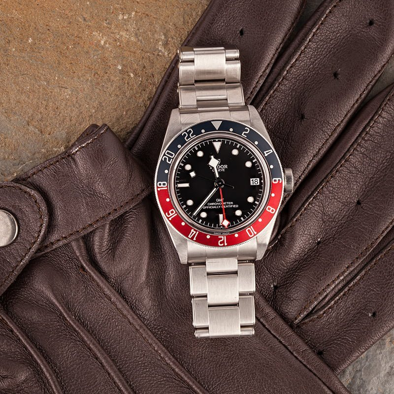 Rolex vs. Tudor: GMT Watch Comparison 79830RB Black Bay Pepsi