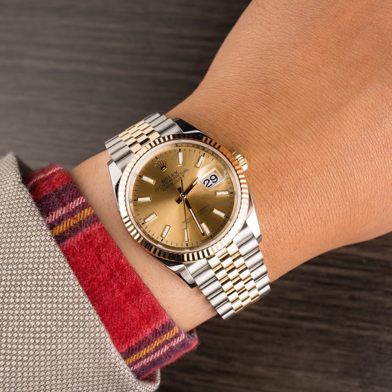 Rolex Rolesor Datejust 36