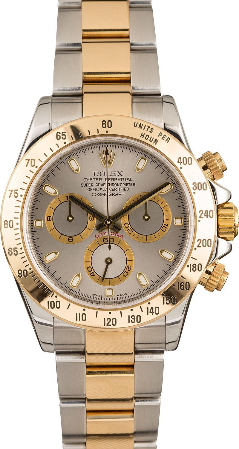 two-tone Daytona watches