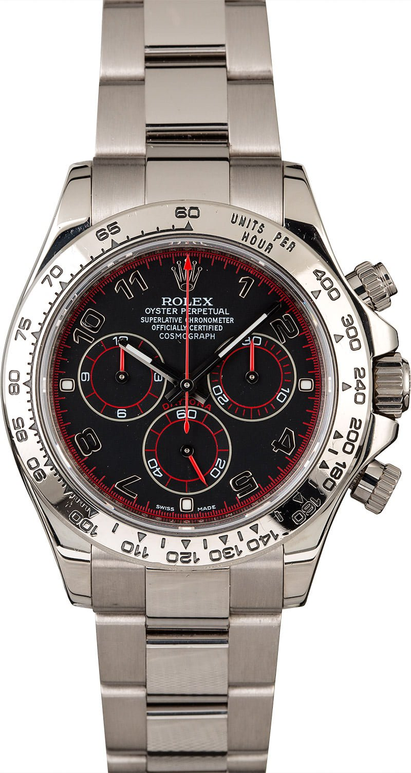 white gold Daytona watches