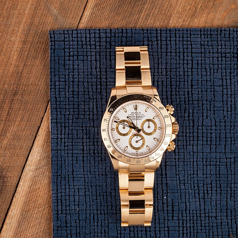 solid gold Daytona watches