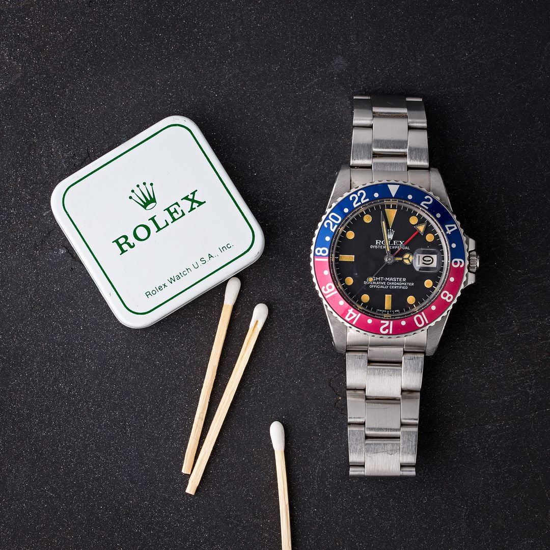 Rolex transitional references GMT-Master
