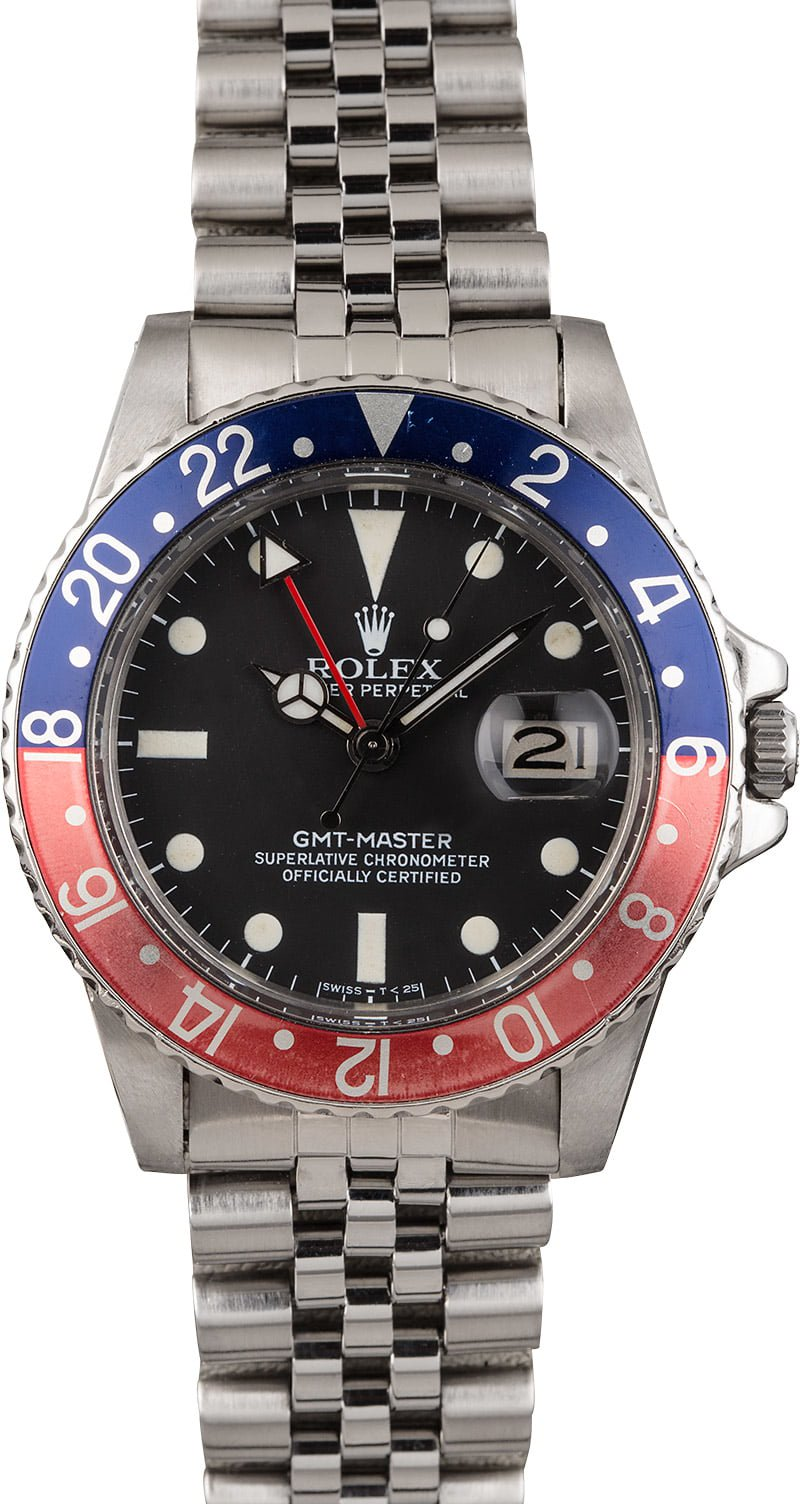 GMT-Master Rolex transitional references