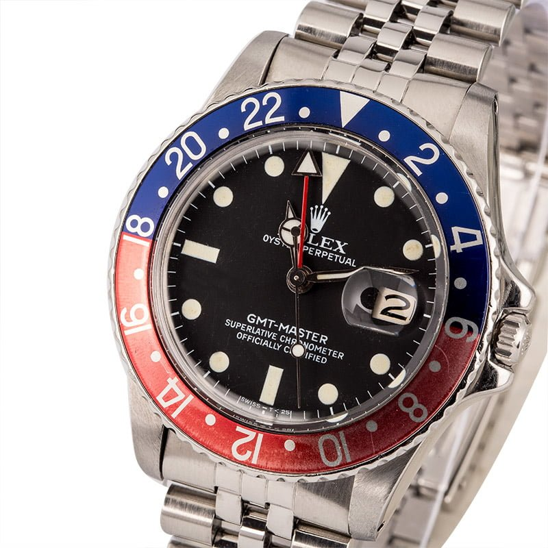 Rolex transitional references GMT-Master 16750