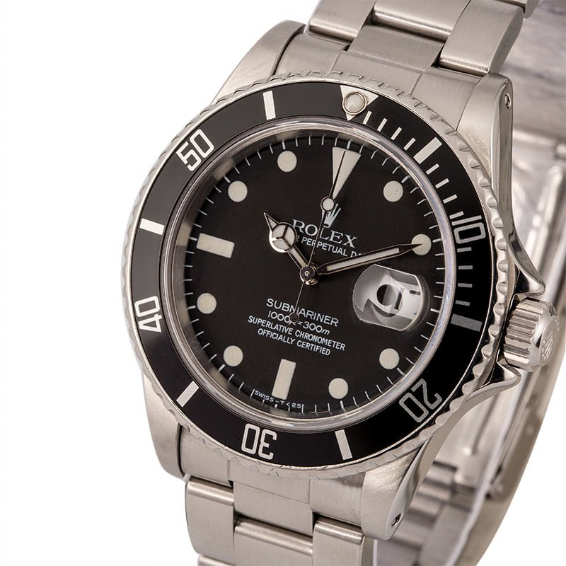 Rolex transitional references Submariner 16800