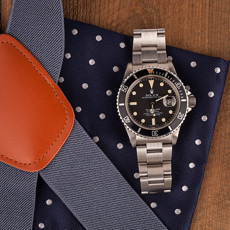 Rolex transitional references Submariner