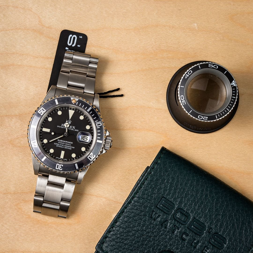Submariner 16800 Rolex transitional references