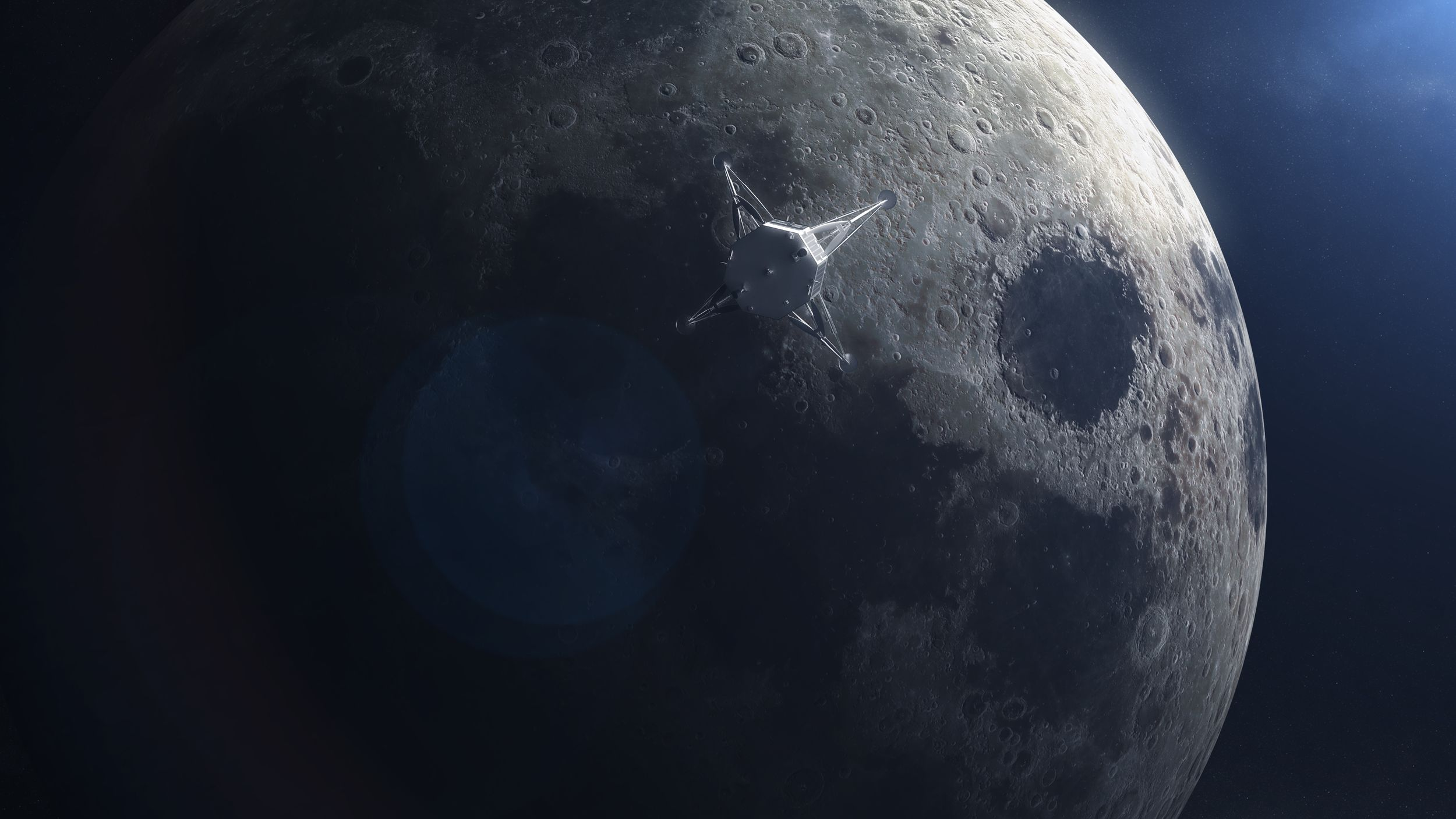 HAKUTO-R ispace Super Titanium lunar lander