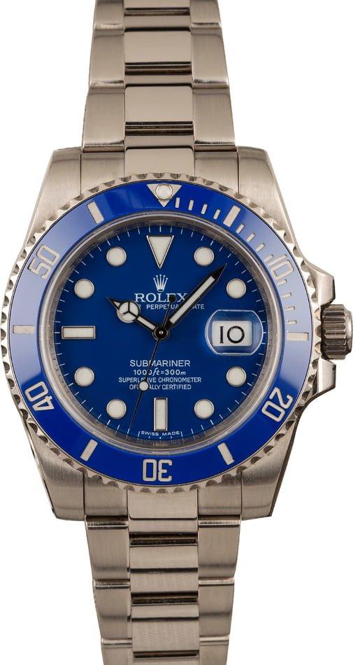 Rolex Submariner 116619Smurf