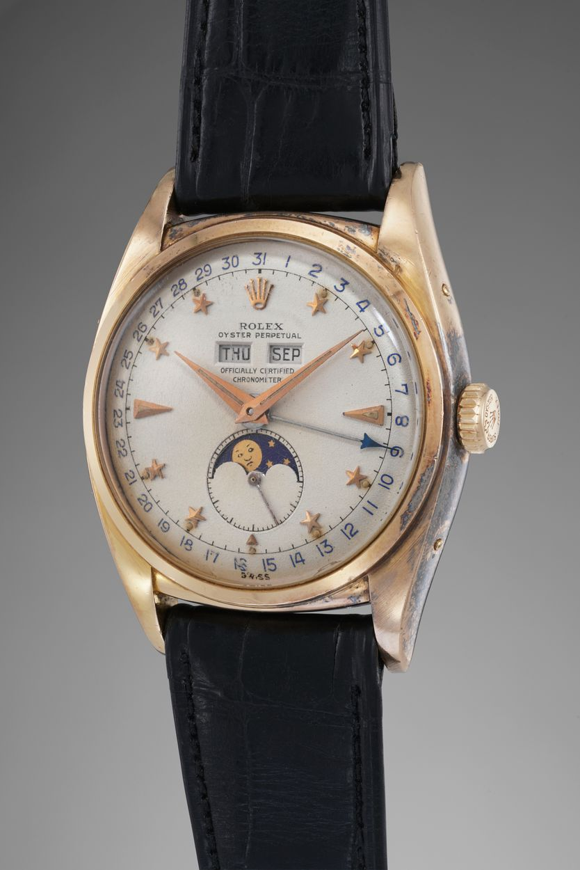 Phillips Auction Rolex Reference 6062 Stelline
