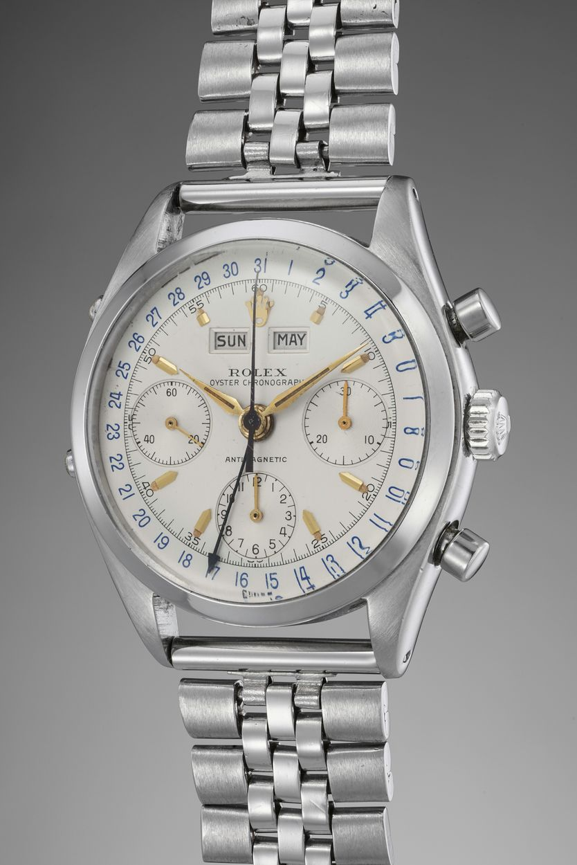 Phillips Auction Rolex Reference 6236 Dato-Compax Jean-Claude Killy