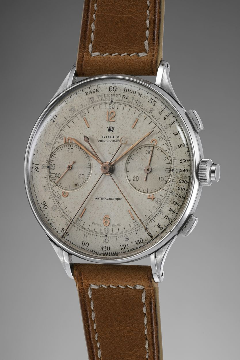 Phillips Auction Rolex Reference 4113 Split Seconds Chronograph
